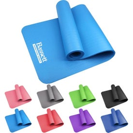"Large NBR Yoga Mat (0.39"" Thick)"