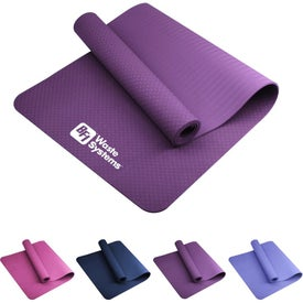 "Monochrome TPE Yoga Mat (0.31"" Thick)"