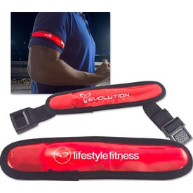 Red Safety Light Arm Band