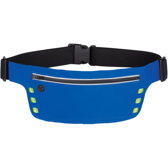 Blue Running Belt with Safety Strip And Lights