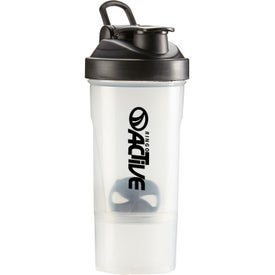 Shake-It Compartment Bottles (16 Oz.)