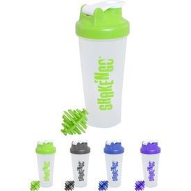 Shaker Bottle with Mixing Ball (24 Oz.)