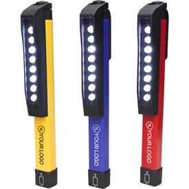 8 LED Flashlight with Magnet
