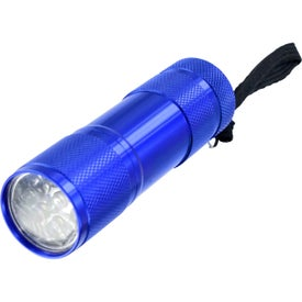 9 LED Metal Flashlight for Your Company