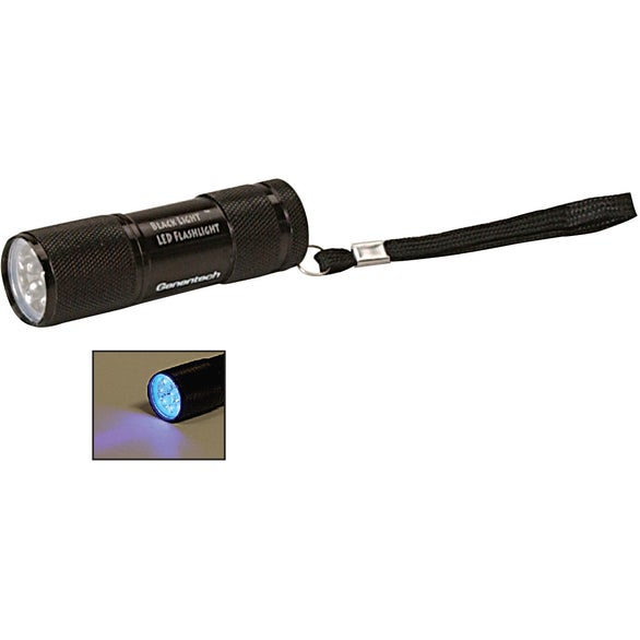Black Black Ultraviolet LED Flashlight