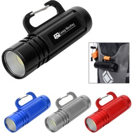 COB Flashlights with Carabiner