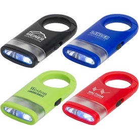 Dual Shine LED Light Carabiners