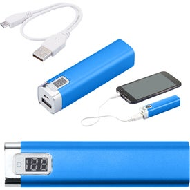 Flashlight Power Bank (UL Certified)