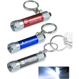 Galatea Mini 3 LED Aluminum Keychain Keylight