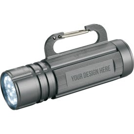 High Sierra Carabiner Hook Flashlights