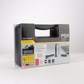 LED Lenser P5R Flashlight with Your Slogan