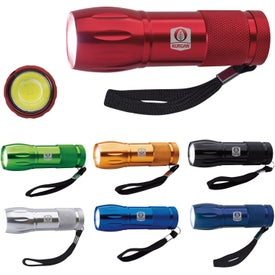 Mini Aluminum COB Flashlight