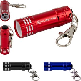Mini LED Flashlight Keychains