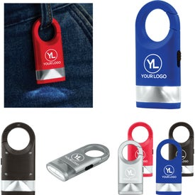 Plastic Carabiner Flashlight