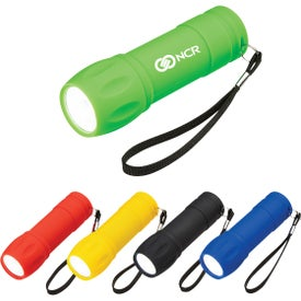 Rubberized COB Light with Strap
