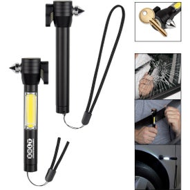 Safety Tool with COB Flashlight