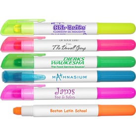 Gel Brite Fluorescent Gel Highlighters