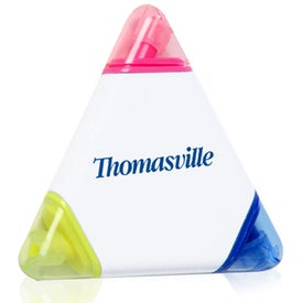 Three Color Triangle Highlighters