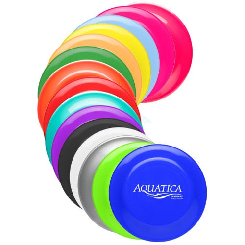 """Solid Color Flying Disc (9-1/4"""" Dia.)"""