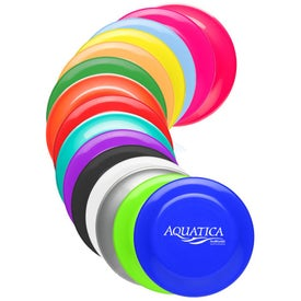 "Solid Color Flying Disc (9-1/4"" Dia.)"