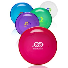 "Translucent Color Flying Disc (9-1/4"" Dia.)"