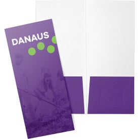 Mini Pocket Folders with Business Card Slits (4