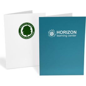 Standard Presentation Folders (Ink Imprint, 1 Location)