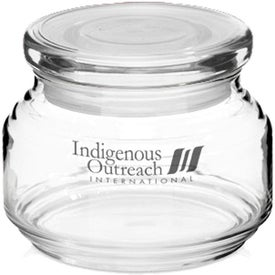 ARC Flat Lid Candy Jar (8 Oz.)