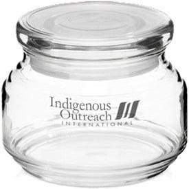ARC Flat Lid Candy Jar (8 Oz.)