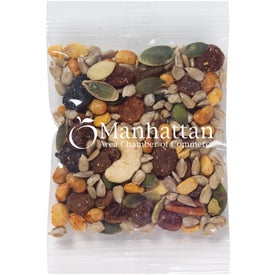 Healthy Promo Snax Bag with Trail Mix