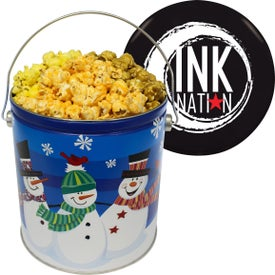 One Gallon Popcorn Tin