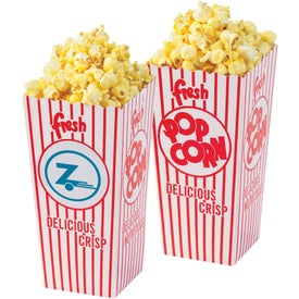Open Top Popcorn Box (3.5 Oz.)