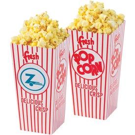 Open Top Popcorn Box