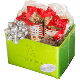 Popcorn and Pretzels Gift Set