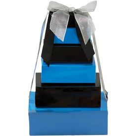Six Tier Custom Logo Treat Towers