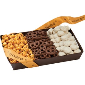 Wall Street with Popcorn Pretzels and Cookies