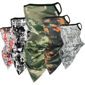Neck Gaiters with Ear Loop (Unisex)