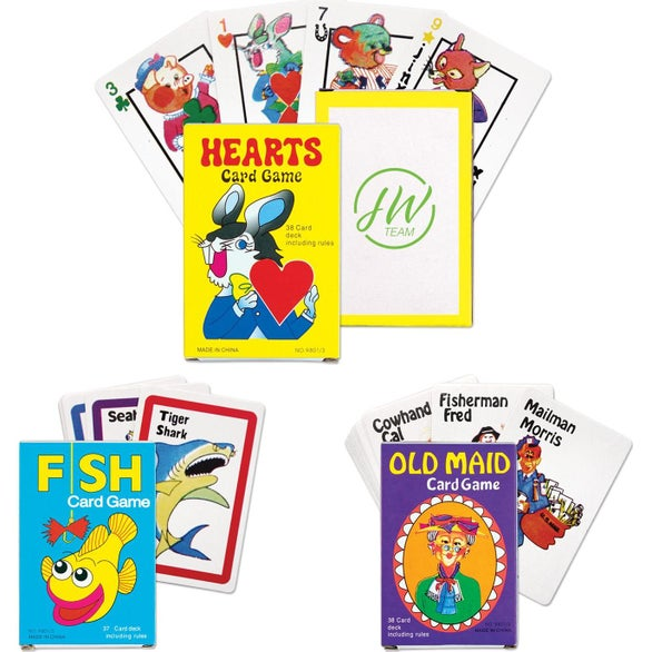 Assorted Colors Card Game Assortment