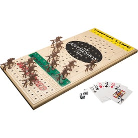 Horseracing Executive Maple Wooden Board Game