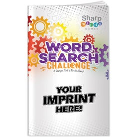 Sharp Minds Word Search Challenge (26 Sheets)