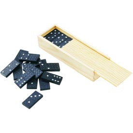 Travel Domino Sets in Wooden Box
