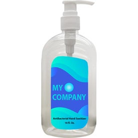 62% Alcohol Hand Sanitizer in Pump Bottle (16 Oz.)