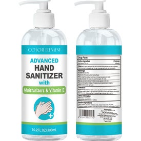 75% Alcohol Gel Hand Sanitizer (10 Oz.)