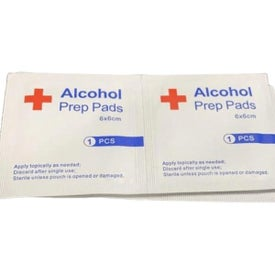 Sterilizing Alcohol Prep Pads