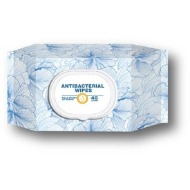 Antibacterial Wet Wipes - 40 Counts