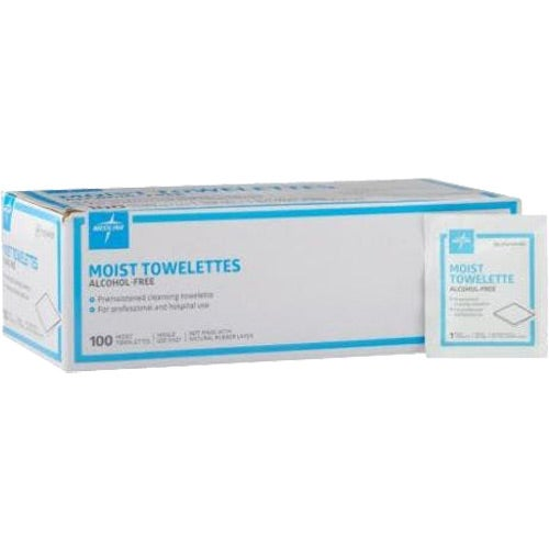 White Antiseptic Towelette Packet