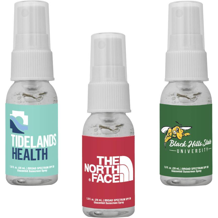 Clear Sanitizer Spray (1 Oz.)