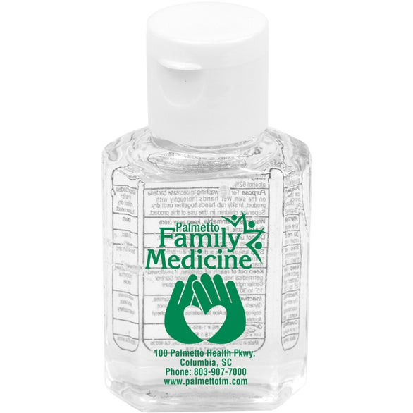 Clear Compact Hand Sanitizer