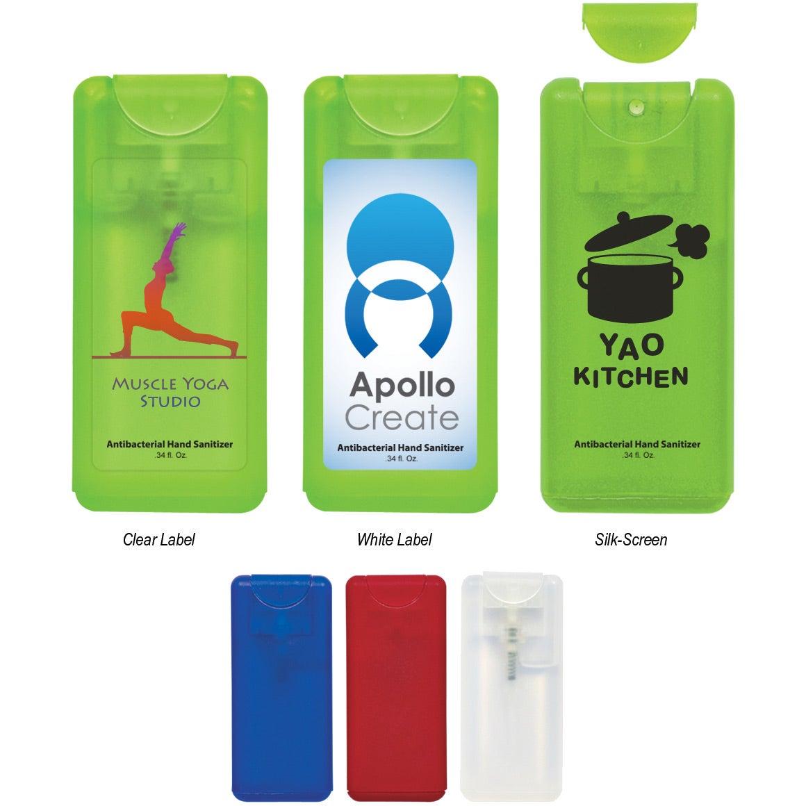 Compact Hand Sanitizer Spray (0.34 Oz.)