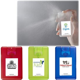 Credit Card Sanitizer Spray (0.67 Oz.)